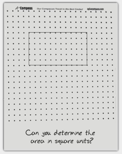A Compass – Dot Paper Template