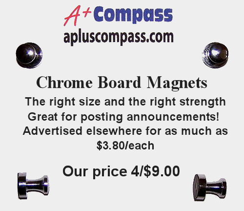 Board Magnets 4/$7.00